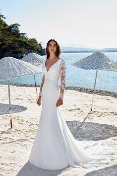ea4b622781c Dreams by Eddy K Valencia. Long Sleeve WeddingWedding Dress SleevesWedding  Dresses ...