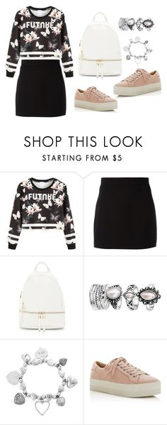 """""""Sin título #655"""" by malvinacabj on Polyvore featuring moda, WithChic, Givenchy, Urban Expressions, ChloBo y Marc Fisher LTD"""