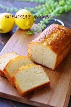 ヨーグルトレモンパウンドケーキ