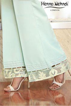 Trends For Women S Fashion 2018 Plazzo Pants, Salwar Pants, Trouser Pants, Dress Neck Designs, Blouse Designs, Stylish Dresses For Girls, Salwar Designs, Embroidery Suits, Pants For Women