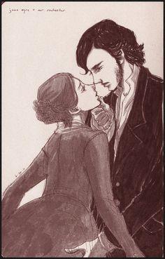 Jane Eyre + Mr. Rochester by Maseiya.deviantart.com