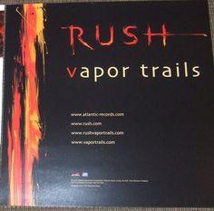 Rush - Album Cover Poster Flat