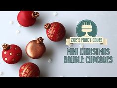 Christmas toppers, cakes and decorations #4: My first Christmas cupcake tutorial :) - CakesDecor