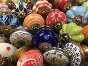 Check out our classic and vintage collection of cupboard knobs: they are our best sellers, and are much loved by our customers. Cupboard Door Knobs, Ceramic Door Knobs, Blue Pottery, Paint Set, Vintage Ceramic, The Hobbit, Vintage Floral, Mosaic, Hand Painted