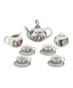 Another great find on #zulily! Snow White Miniature Collector Tea Set #zulilyfinds