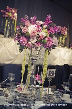 Vintage Design Co. // Niagara Falls Wedding Florist // Wedding Reception