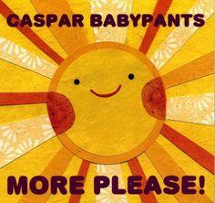 Caspar Babypants More Please by kateendle on Etsy