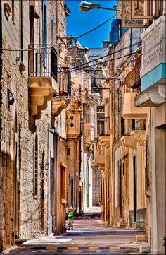 typical Maltese village road #travel