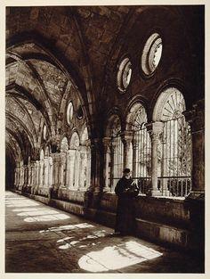 Kurt Hielscher, Cloisters of the Santa Mar'a Cathedral in Tarragona, 1925.