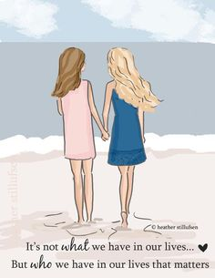 Best Friends - It's Not What We Have But Who We Have in Our lives - Sisters - Tween Sister Friend W