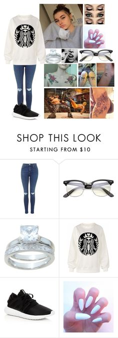 """Jenny and Trevor's Date (2)"" by winniemjones ❤ liked on Polyvore featuring Lauren Conrad and adidas"