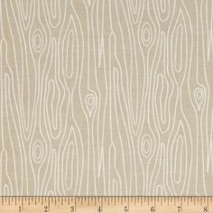 Riley Blake Good Natured Timber Brown from @fabricdotcom  Designed by Marin Sutton for Riley Blake, this cotton print is perfect for quilting, apparel and home decor accents.  Colors include white and brown.