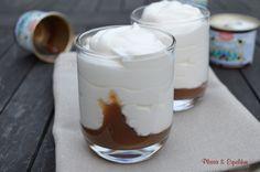 Fontainebleau à la crème de marrons Fontainebleau, Glass Of Milk, Pudding, Desserts, Blog, Cakes, Battle, Conkers, Greedy People