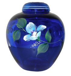 Fenton Glass Ginger Jar