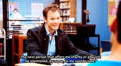 When people try to help you. | Community Post: The 29 Most Relatable Quotes From Community