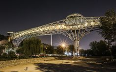 Tabiat (Nature) Pedestrian Bridge - Tehran, Iran