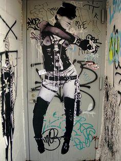 high boots in a doorway by musiquegirl, via Flickr