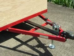 Build your own teardrop trailer from the ground up – The Owner-Builder Network Small Camper Trailers, Diy Camper Trailer, Small Campers, Vintage Travel Trailers, Vintage Airstream, Airstream Trailers, Rv Campers, Work Trailer, Building A Teardrop Trailer
