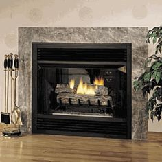 FMI Universal 36 Inch Vent-Free Circulating See-Through Firebox - Wood Burning Fireplace Inserts Fireplace Tile, Diy Fireplace, Free Gas, Wood Burning Fireplace, Living Room With Fireplace, Ventless Natural Gas Fireplace, Fireplace, Wood Burning Fireplace Inserts, Fireplace Hearth