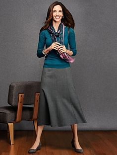 Talbots - Flannel Riding Skirt | | Misses Discover your new look at Talbots. Shop our Flannel Riding Skirt for stylish clothing and accessories with a modern twist at Talbots