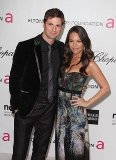 Gale Harold & Yara Martinez Attend the 20th Annual Elton John AIDS Foundation Academy Awards #Hotties #Beautiful #YaraMartinez