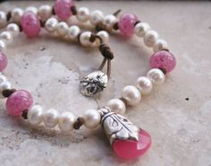 Romantic Elegant Necklace / Earthy Rustic Necklace by MissieRabdau, $98.00