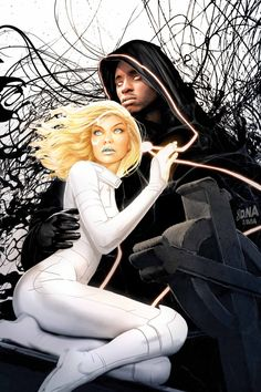 All New Ultimates #9 - Cloak and Dagger by David Nakayama