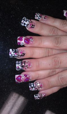 KAoTiK nail designs by April Davidson call or text 559-908-1867 add me on Facebook www.facebook.com/pediqueen