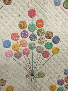 BALLOONS QUILT..............PC