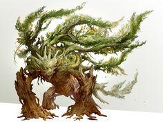 plant creature by kekai kotaki