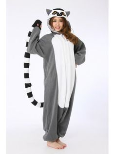 Lemur Animal Onesie Kigurumi Costume //