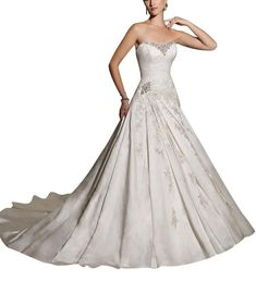 disney princess weddings | exciting 2013 princess disney wedding dresses with strapless trains