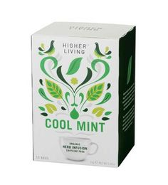 I just love the Higher Living Tea packaging!