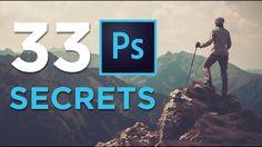 33 Photoshop Secrets - YouTube