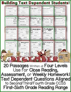 Common Core Galore on Pinterest | text dependent questions ...