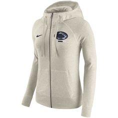 Nike Women's Michigan State Spartans Gym Vintage Full-Zip Hoodie - Tan/Beige S Bear Hoodie, Georgia Bulldogs, Jay Z, Seattle Seahawks, Nfl Seahawks, Tans, White Hoodie, Full Zip Hoodie, Women Nike