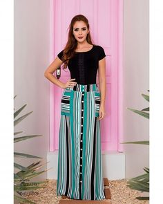 Long Skirt Outfits, Modest Outfits, Modest Fashion, Dress Outfits, Casual Dresses, Fashion Dresses, Fancy Skirts, Cute Skirts, Best Plus Size Dresses