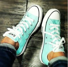 Teal converse! A must have.