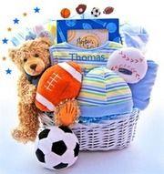 Baby Boy Gift Basket Idea