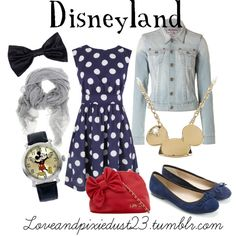 Disneyland, created by loveandpixiedust on Polyvore