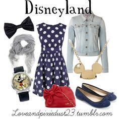 Disneyland, created by loveandpixiedust on Polyvore