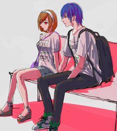 Hinami and Ayato // TG:re