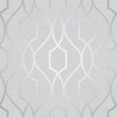 Apex Trellis Silver Luxury wallpaper from Fine Decor's Apex Collection. Modern trellis design with metallic silver design. Perfect for creating that modern in trend style. Paste the Paper Offset Match Wipeable x See more of the Apex Collection HERE Silver Luxury Wallpaper, Silver Marble Wallpaper, Geometric Trellis Wallpaper, Copper Wallpaper, Metallic Wallpaper, Charcoal Wallpaper, Grey Wallpaper, Vinyl Wallpaper, Shopping