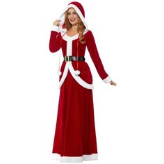 Disfraz de Mamá Noel Premium con Falda Larga Santa Outfit For Women, Santa Christmas, Christmas Decorations, Dresses With Sleeves, Women's Fashion, Clothes For Women, Long Sleeve, Outfits, Papa Noel