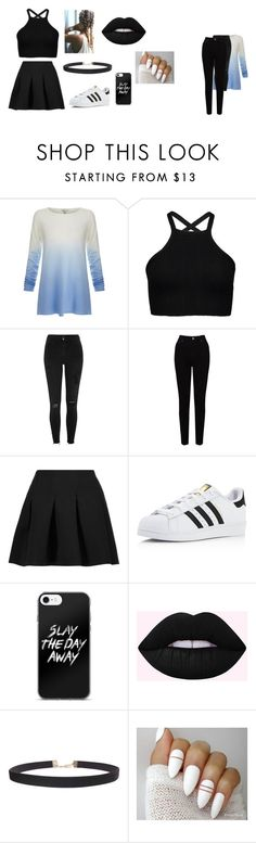 """el negro copa"" by renata-lamaslinda ❤ liked on Polyvore featuring Joie, River Island, EAST, T By Alexander Wang, adidas, Humble Chic, men's fashion and menswear"