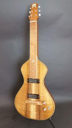 Asher Electro Hawaiian Model I - Hawaiian Koa top