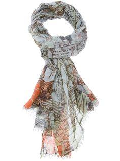 Faliero Sarti - cotton print scarf