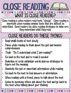 EL Education Anchor Charts Growing Bundle I am currently a fourth grade teacher in my first year of using the EL Education program school [. 6th Grade Ela, 4th Grade Reading, Fourth Grade, Third Grade, Teaching Reading, Guided Reading, What Is Close Reading, Close Reading Strategies, Reading Resources