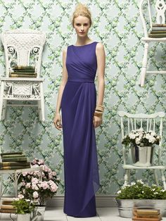 Lela Rose LR181    #blue #bridesmaid #dresses