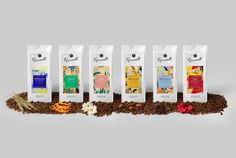 Granell Mediterranean Blends — The Dieline - Branding & Packaging